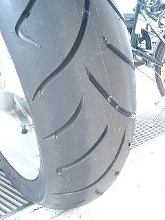 タイヤパターン